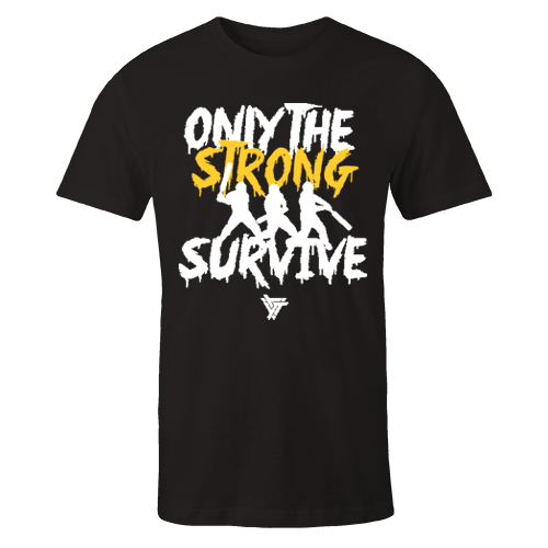 Only The Strong v2 Black Cotton Shirt