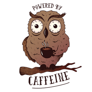 Owl Caffeine Sublimation Dryfit Shirt