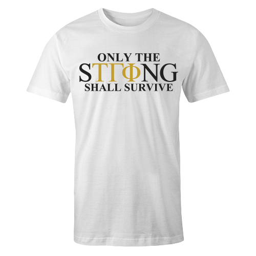 Only The STRong White Cotton Shirt