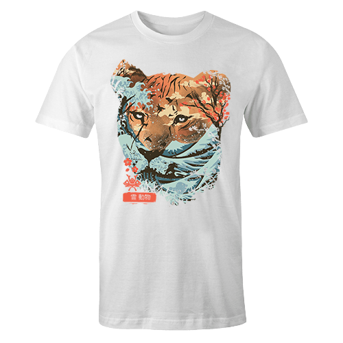 Oriental Tiger Sublimation Dryfit Shirt