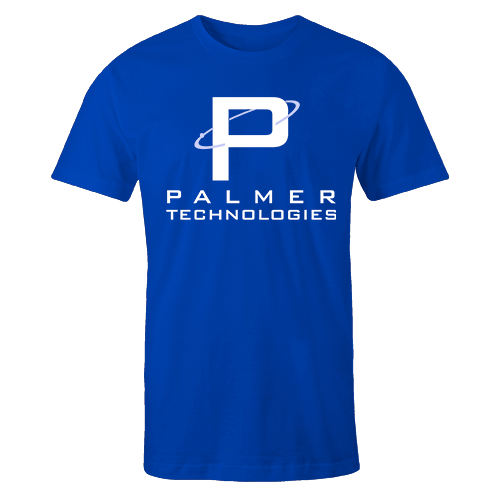 Palmer Tech Blue Cotton Shirt