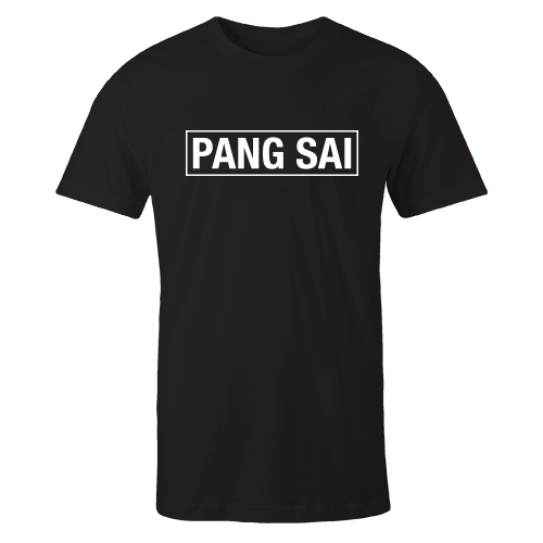 Pang Sai Black Cotton Shirt