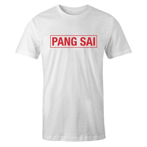 Pang Sai White Cotton Shirt