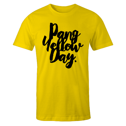 Pang Yellow Day Palaban Cotton Shirt