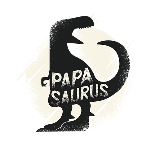 Papa Saurus Sublimation Dryfit Shirt