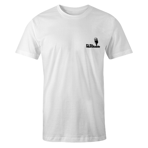 Plain Logo White Embroidered Cotton Shirt