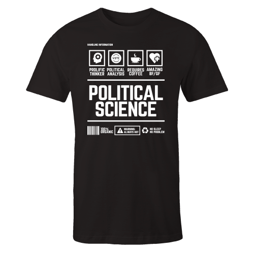 Political Handling Black Shirt