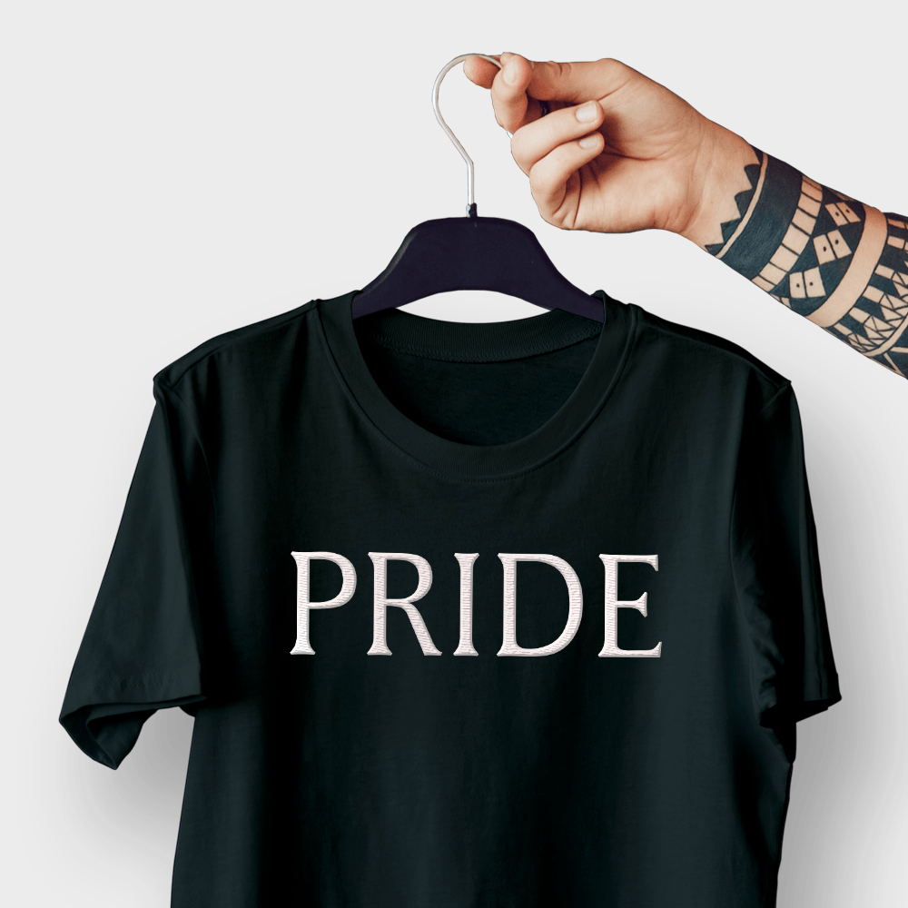 Pride Embroidered Shirt