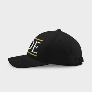 Pride Black Embroidered Cap