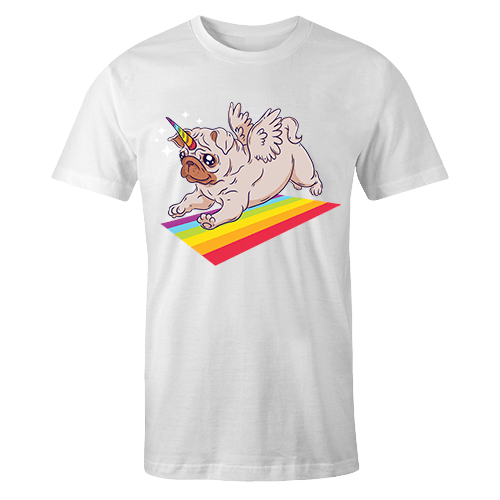 Pug Unicorn Sublimation Dryfit Shirt