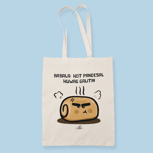 HotPandesal Sublimation Canvass Tote Bag