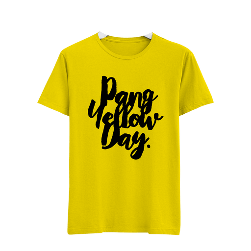 Pang Yellow Day Yellow Cotton Shirt