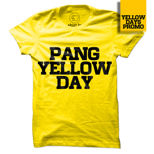 PANG YELLOW DAY v2 Yellow Cotton Shirt