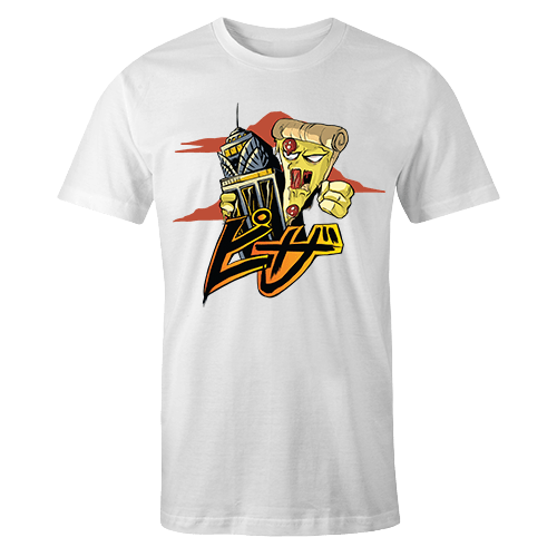 Pizza Kong Sublimation Dryfit Shirt