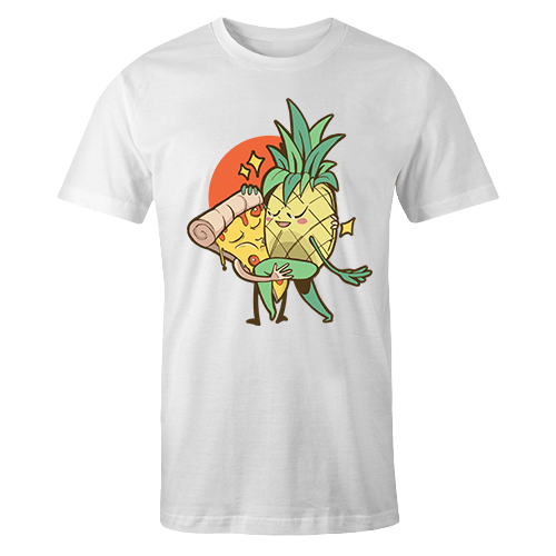 Pizza Pineapple Sublimation Dryfit Shirt