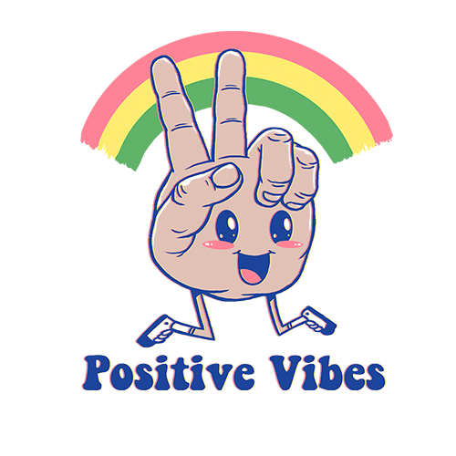 Positive Vibes Sublimation Dryfit Shirt