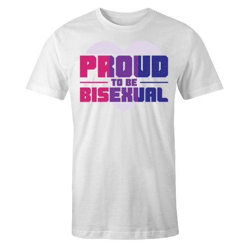 Proud to be Bisexual Sublimation Dryfit Shirt