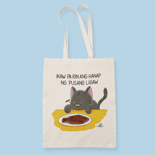 Pusang Ligaw Sublimation Canvass Tote Bag