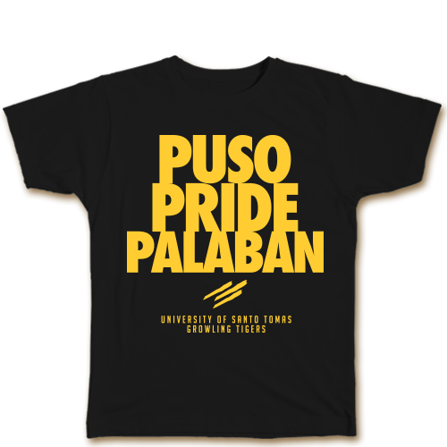 Puso Pride Palaban Black Cotton Shirt