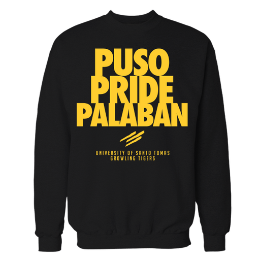Puso Pride Palaban Black Cotton Sweatshirt