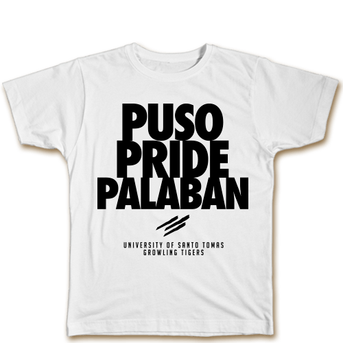 Puso Pride Palaban White Cotton Shirt