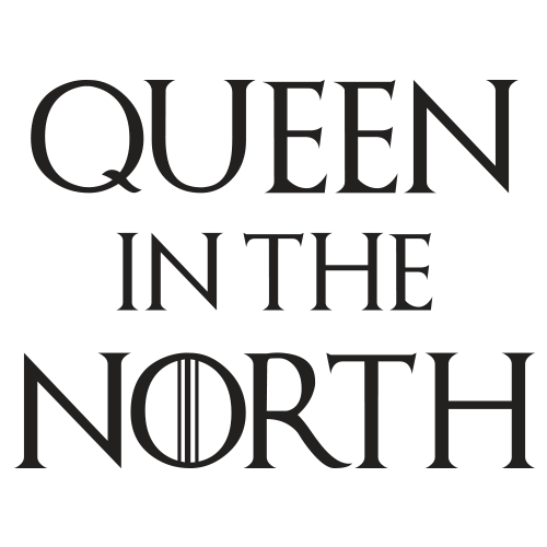 Queen In The North Black Cotton Shirt