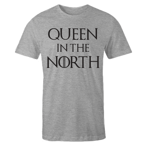 Queen In The North Grey Cotton Shirt