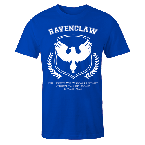Ravenclaw Blue Cotton Shirt
