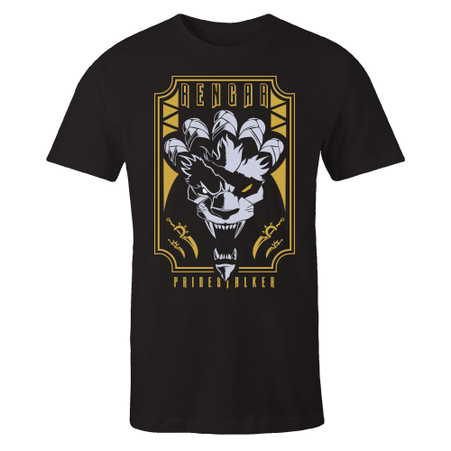 Rengar Black Cotton Shirt