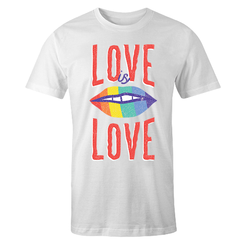 Rainbow Lips Sublimation Dryfit Shirt