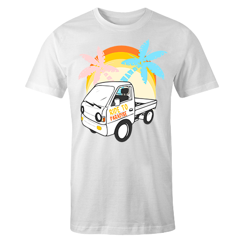 Ride To Paradise Sublimation Dryfit Shirt
