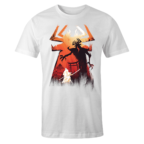 Samurai Jack Sublimation Dryfit Shirt