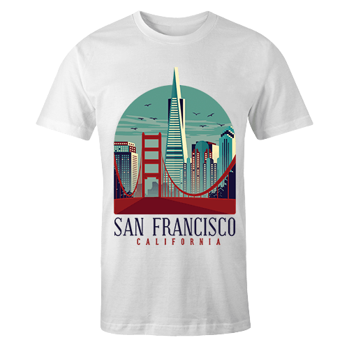 San Francisco Sublimation Dryfit Shirt
