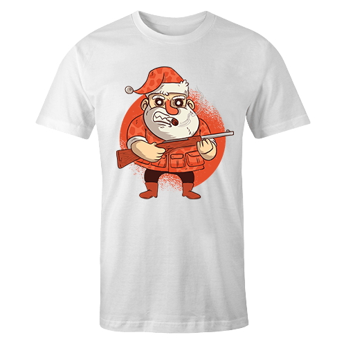 Santa Sublimation Dryfit Shirt