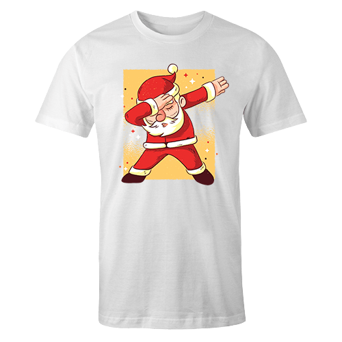 Santa Dab Sublimation Dryfit Shirt