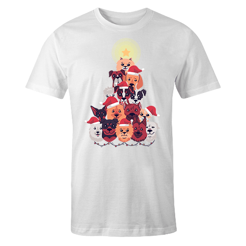 Santa Doggo Sublimation Dryfit Shirt
