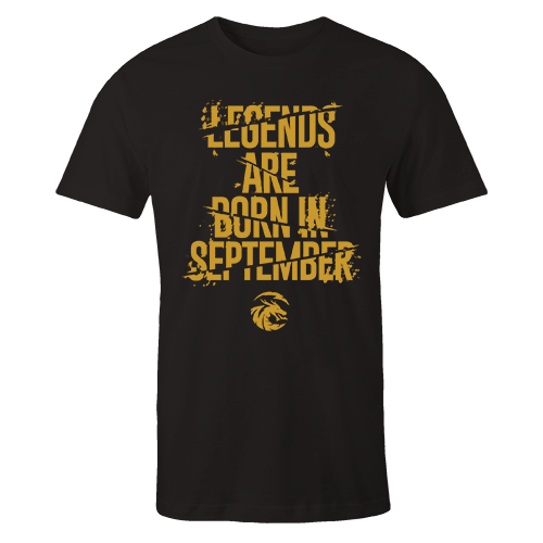 Legends are Born in September v6 G5 Cotton Shirt