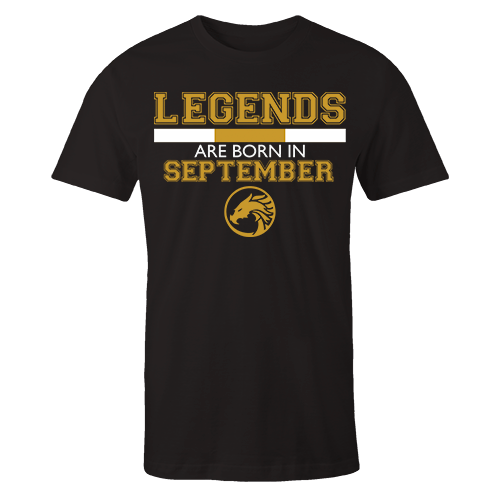 Legends are Born in September v5 G5 Cotton Shirt