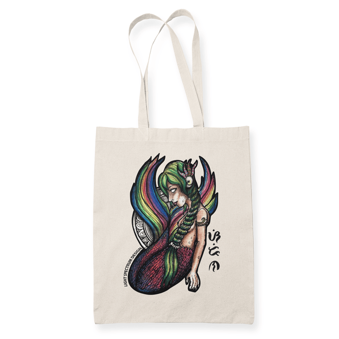 Sirena Sublimation Canvass Tote Bag