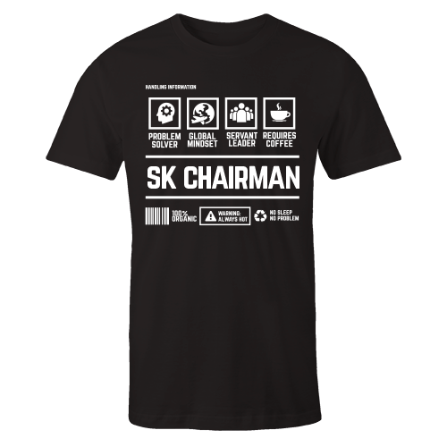 SK Chairman Handling Black Cotton Shirt