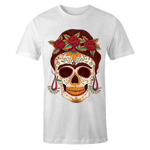 Skull Sublimation Dryfit Shirt