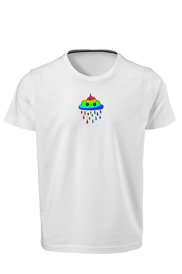 Smile Rainbow Sublimation Dryfit Shirt