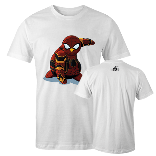 Penguin  Comics Mashup v7 Sublimation Dryfit Shirt With Logo At The Back