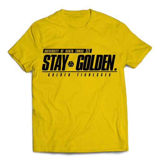 Stay Golden Yellow Cotton Shirt
