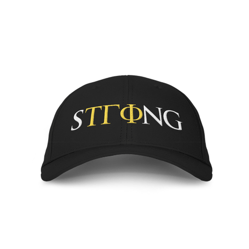 Strong v1 Embroidered Black Cap