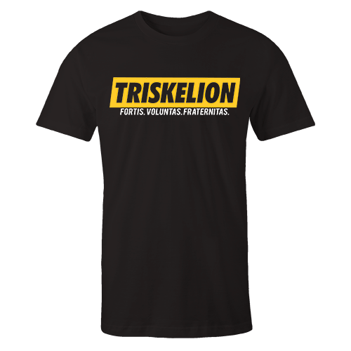 Triskelion Sup Black Cotton Shirt