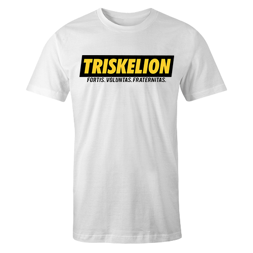 Triskelion Sup White Cotton Shirt