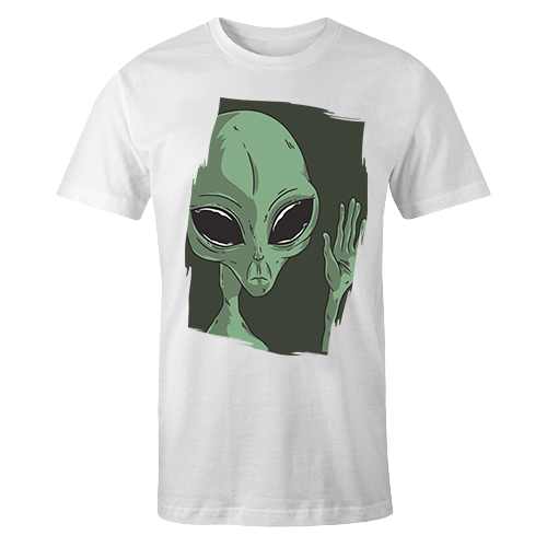 Sad Alien Sublimation Dryfit Shirt