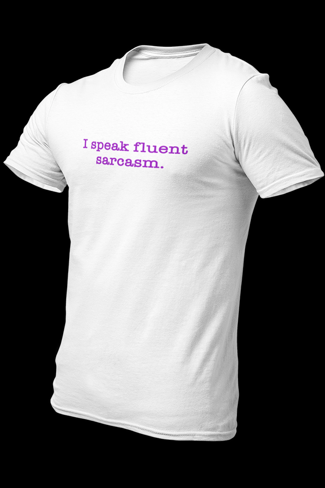 SpeakSarcasm Embroidered Cotton Shirt