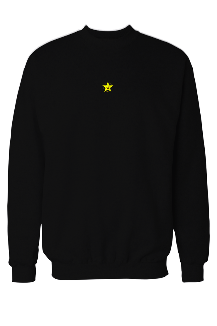 Star Embroidered Pocket Size Sweatshirt